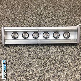Светодиодный линейный светильник для архитектурной подсветки 300 мм 18Вт 24В LS Line-1-65-05-C-24 Теплый белый
