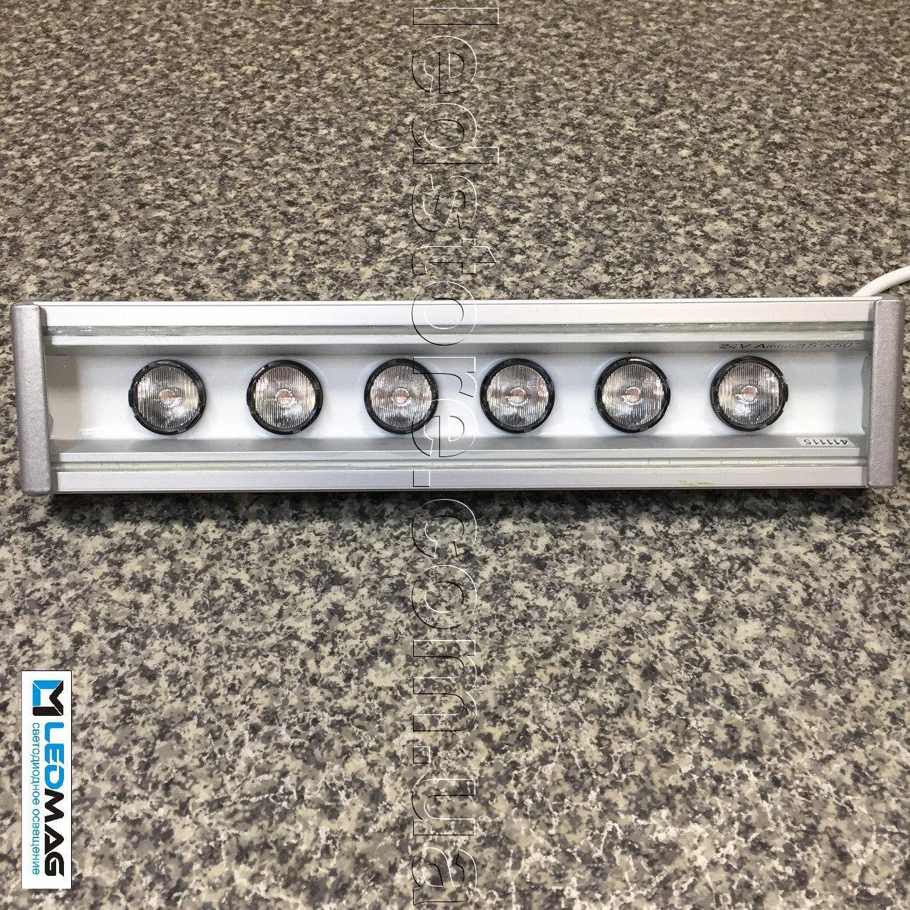 Светодиодный линейный светильник для архитектурной подсветки 300 мм 18Вт 24В LS Line-1-65-05-C-24 Белый