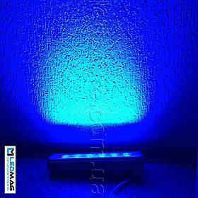 Светодиодный линейный светильник для архитектурной подсветки 300 мм 18Вт 24В LS Line-1-65-05-C-24 Синий