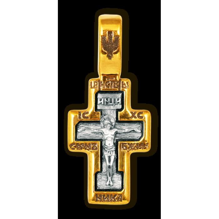 Крест Распятие Христово. Прп. Серафим Саровский