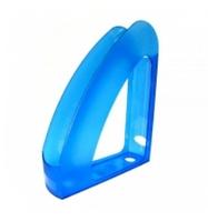 """Лоток для паперу вертикальний ECONOMIX """"Райдуга"""" синій, 70х240х305 мм (E80531-02)"""