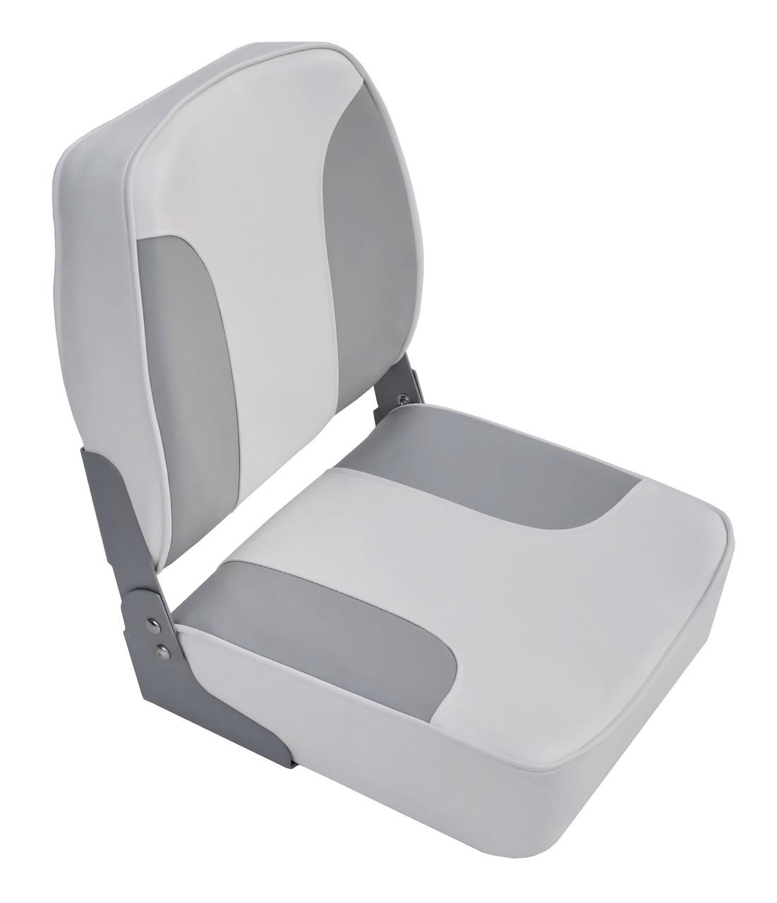 Сидіння для катери, човни, яхти низьке темно-світло-сіре 1001203