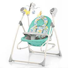Колиска-гойдалка дитяча Carrello Nanny 3в1 CRL-0005 з пультом