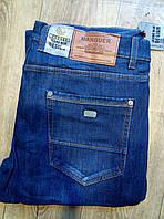 Мужские джинсы Manguer флис 8404 (29-38/8ед) 11.75$