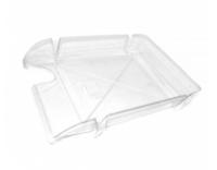 """Лоток для паперу горизонтальний ECONOMIX """"Компакт"""", прозорий, 365х250х60 мм (E80602)"""
