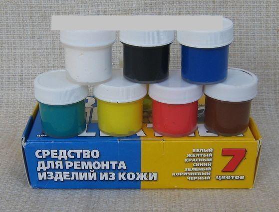 """Краска для кожаных изделий  """"Жидкая кожа"""" Liquid Leather (Ликвид Лизер)"""
