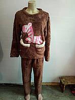 Пижамы, домашние костюмы махра, 44-46, фото 1
