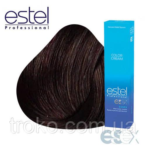 ESTEL крем-краска, 60 мл 5/76 Светлый шатен коричнево-фиолетовый - Горький шоколад