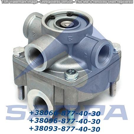 Клапан ускорительный WAB9730010100 8 bar , MAN 81521166010, MB 0004296544, RVI 5000012541
