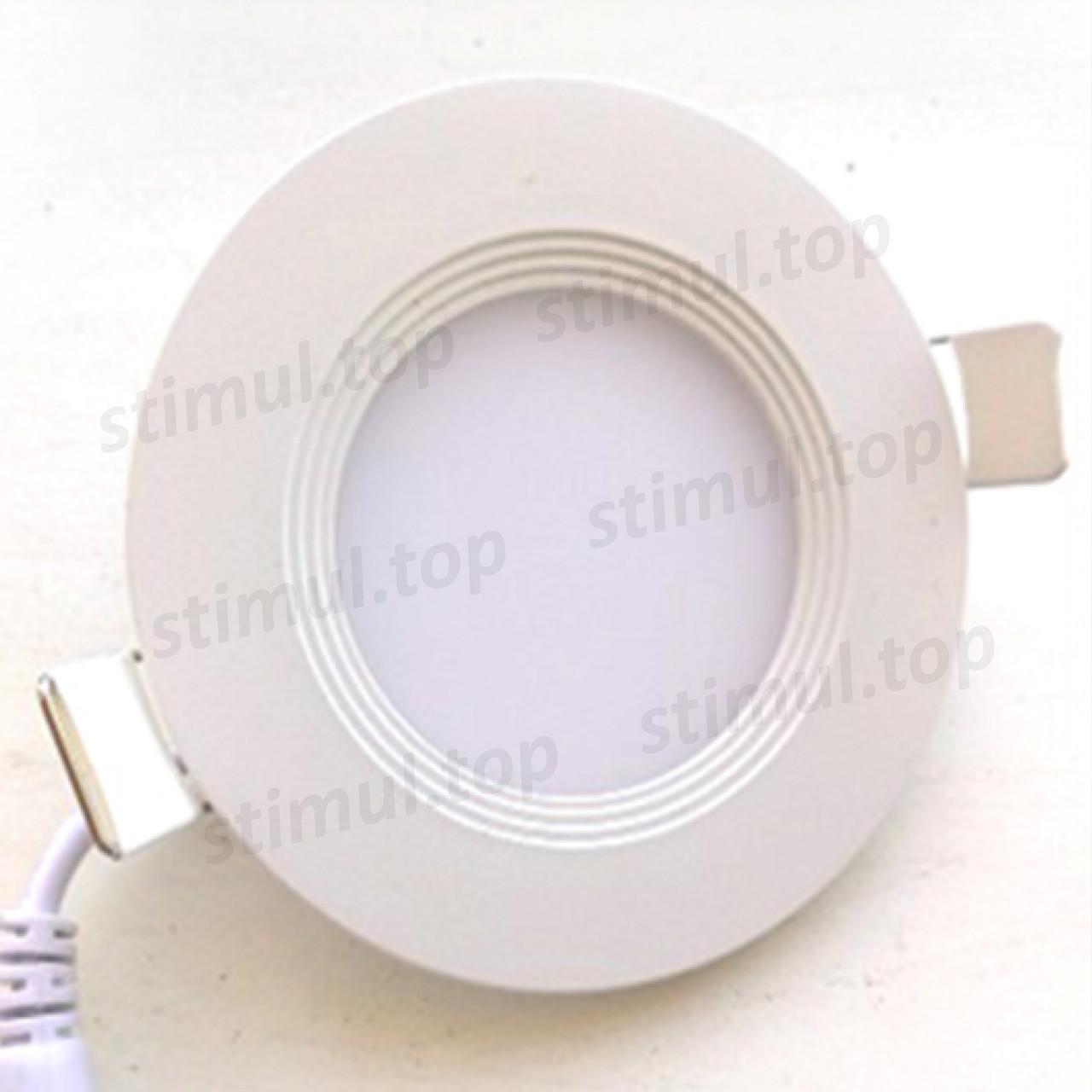 Светильник светодиодный точечный Down Light 18W Plastic белый свет