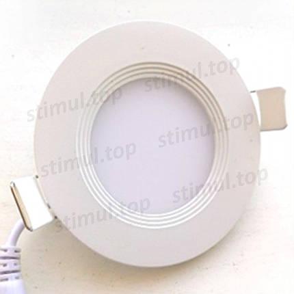 Светильник светодиодный точечный Down Light 18W Plastic белый свет, фото 2