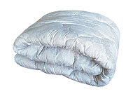 """Одеяло шерстяное чехол микрофибра """"Чарівний сон"""" 175х210"""