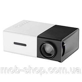 Телевизионный мини кинопроектор YG-300 HDMI+USB