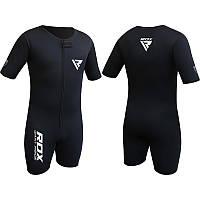Мужская одежда для тренировок RDX Neoprene Sweat Weight Loss Sauna Suit Slimming Shorts Gym MMA Boxing MMA US