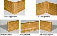 Фурнитура для Плинтуса Напольного Penates CLASSIC, 48 мм.