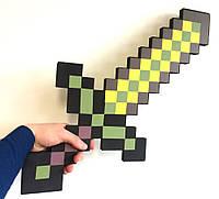Золотой меч Minecraft (Майнкрафт) Оригинал, фото 1