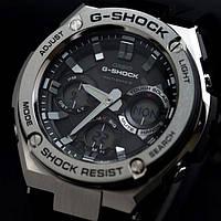 Наручные мужские часы Casio G-SHOCK ААА копияElit Стальной корпус, фото 1