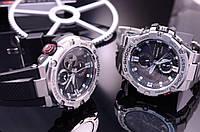 Наручные мужские часы Casio G-SHOCK ААА копия Elit Стальной корпус.