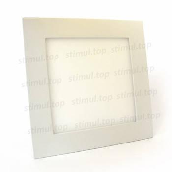 Светильник светодиодный точечный Down Light 12W Plastic квадратный белый свет, фото 2