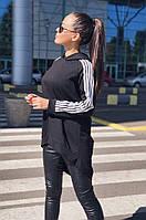 Женский стильный худи с капюшоном двунить