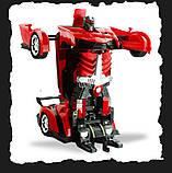 Іграшка машинка трансформер робот на пульті управління автобот, фото 2