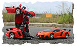 Іграшка машинка трансформер робот на пульті управління автобот, фото 5