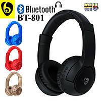Наушники Stereo Bluetooth гарнитура OVLENG BT-801 Gold