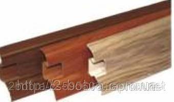 Плинтус напольный пластиковый Penates Lux 60мм в, фото 2