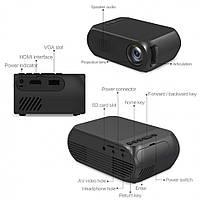 Телевизионный кинопроектор YG-320 HDMI+USB, фото 4