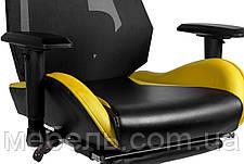 Детское компьютерное кресло Barsky BGM-06 черное с жёлтым, фото 2
