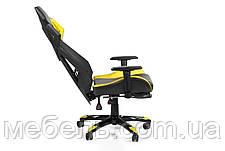 Детское компьютерное кресло Barsky BGM-06 черное с жёлтым, фото 3