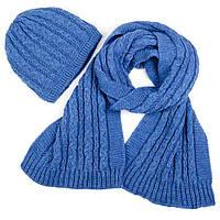 Набор (шапка, шарф) SVTR 1 Джинс (3-й комплект)
