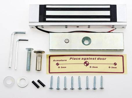 Электромагнитный замок на 180-кг удержания, фото 2
