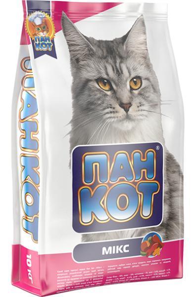 Сухой корм Пан Кот Микс - Сухой корм для Кошек 10 кг