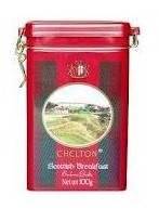 Чай черный  крупнолистовой Scotish Breakfast  Chelton,ж\б, 100 гр
