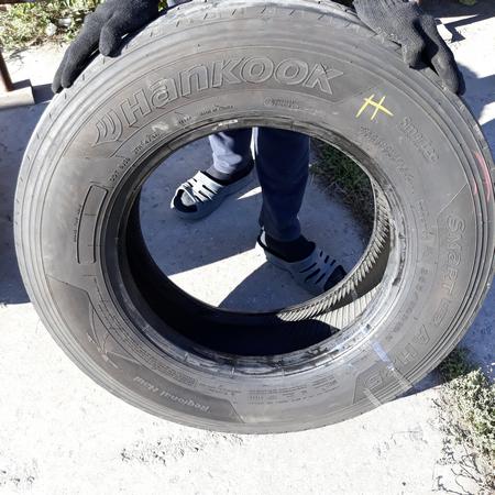Грузовые шины б.у. / резина бу 265.70.r19.5 Hankook AH35 Хенкок