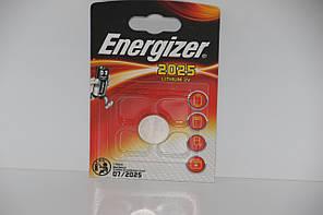 Часовая батарейка Energizer CR2025