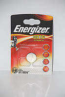Батарейка для часов. EnergizerCR2016 3.0V 70mAh 20x1.6mm. Литиевая