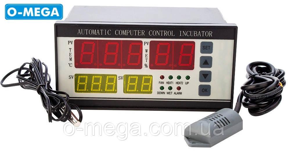 XM-18 регулятор влажности, температуры и переворота лотков в инкубаторе
