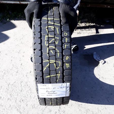 Грузовые шины б.у. / резина бу 215.75.r17.5 Dunlop SP444 Данлоп