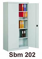 Шкаф архивный канцелярский Sbm 202, шкаф металлический для документов
