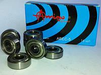Подшипники комплект 16 штук с алюминиевыми втулками Explore ABEC 5