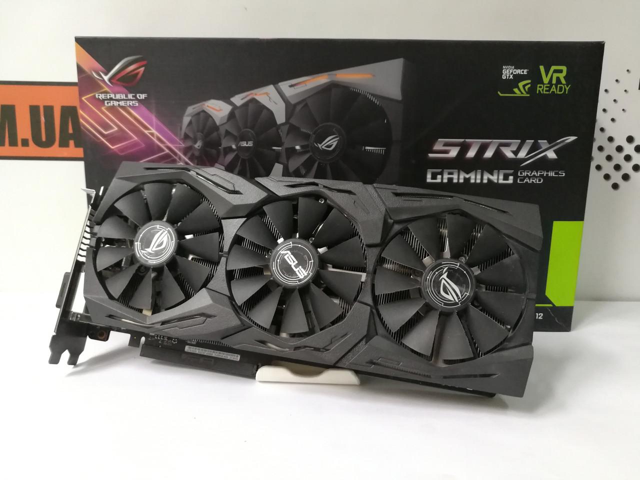 Видеокарта Asus ROG Strix GeForce GTX 1070 8GB GDDR5 256bit, гарантия!