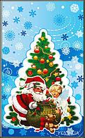 Новорічні пакети для цукерок і подарунків 25х40 (100шт.)