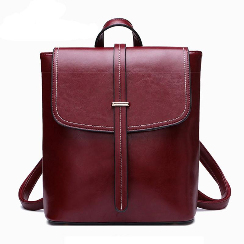 94e00e2c01dd Рюкзак сумка трансформер женский из экокожи с пряжкой (красный) -  Интернет-магазин «