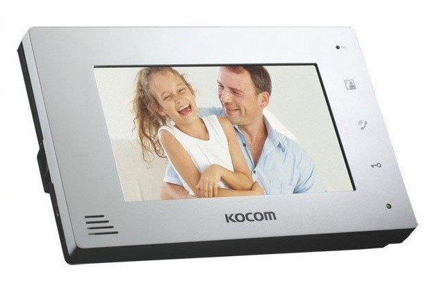 Видеодомофон Kocom KCV-A374 white/black