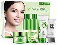 Набор Bioaqua из пяти средств по уходу за кожей с экстрактом Aloe Vera