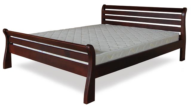 Кровать односпальная с натурального дерева в спальню/детскую ТИС РЕТРО 1 90*190 сосна