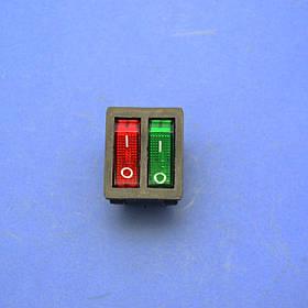 Сетевая кнопка для масляного обогревателя двойная 16А