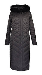 Пальто женское удлиненное зимнее размер 46/48 PLIST Наполнитель файбертек